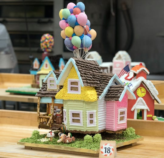 Any style of gingerbread house is fair game in MATC's annual contest. They can be traditional or play off pop culture.