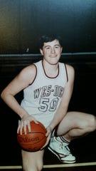 Kevin and Kurt Beach both played basketball during their freshman year at Wes-Del High School. Photo Provided, Kurt Beach.