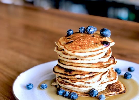 Blueberry pancakes will be one of the options at Dallas & Jane, which will open for Sunday brunch starting Dec. 1.
