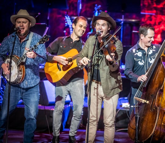 Roots music outfit Old Crow Medicine show plays GPAC on Sunday.