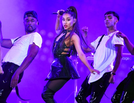 Ariana Grande performed at Fiserv Forum on July 5, 2019.