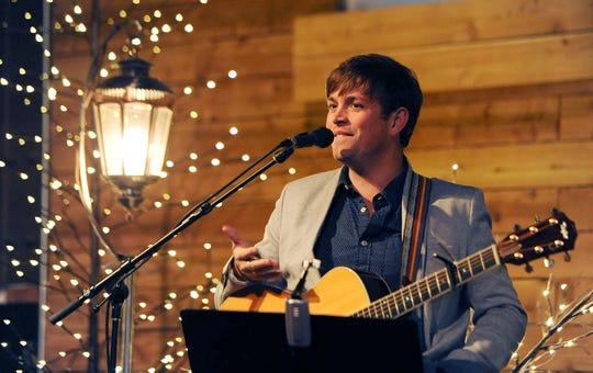 Dave Barnes will perform at 8 p.m. Dec. 11 at the Bijou Theatre.