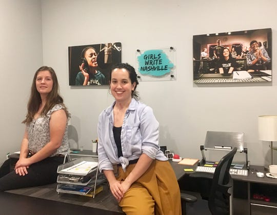 Georgia English, left, and Jen Starsinic founded local nonprofit Girls Write Nashville three years ago. This year, they received a $50,000 grant from A Community Thrives, a program from the USA TODAY Network that is part of the Gannett Foundation.