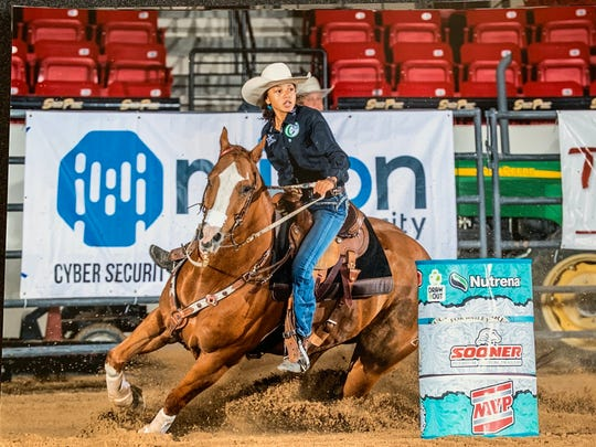 Aztec's Nika Neighbors will compete the Junior World Finals Barrel Race and Pole Bending competitions on Dec. 10-14 in Las Vegas, Nevada.
