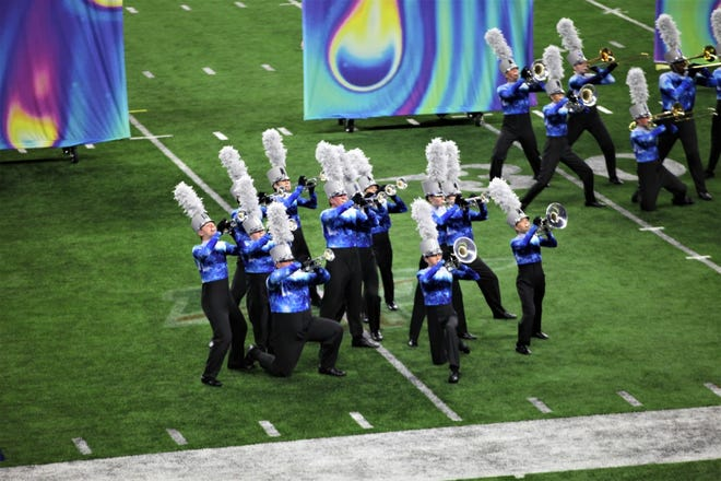 The Plymouth-Canton Educational Park marching band was a national semifinalist at the national finals earlier this month.