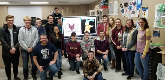 Rob Turner's class at Omro High School are one of the five national winners in the Samsung Solve for Tomorrow contest.