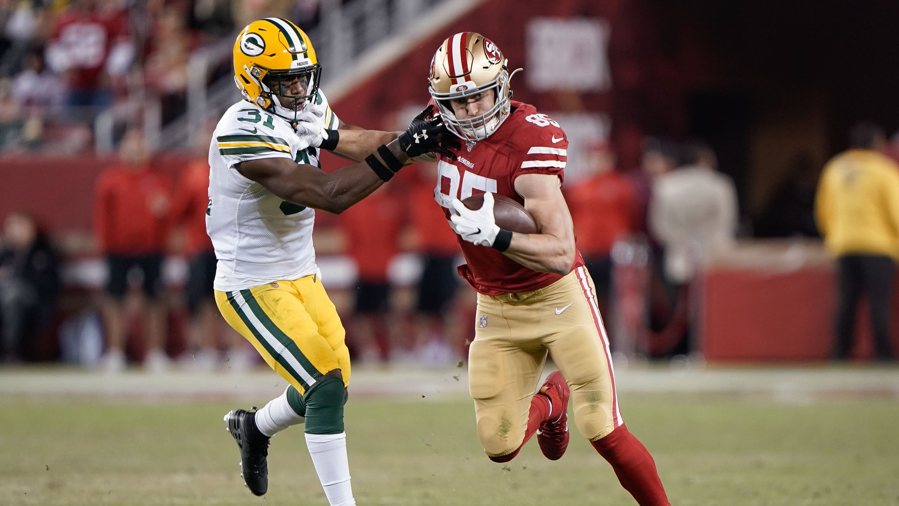 49ers End George Kittle