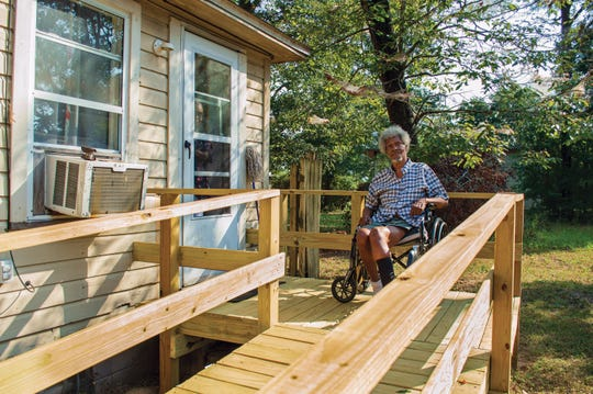Council on Aging seeks support for ramp-building program on Giving Tuesday.