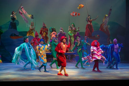 """The University of West Florida's Department of Theatre presents Disney's """"The Little Mermaid."""""""