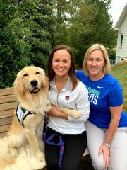 Studer Family Children's Hospital adds third therapy dog, Klio, to the team.