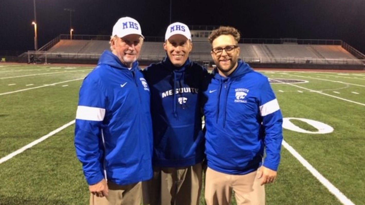 Hare family will celebrate Thanksgiving together by making Mesquite football history