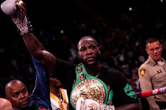 Deontay Wilder retuvo el título mundial de los pesados ante Luis Ortiz.