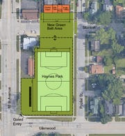 The city of Port Huron and St. Clair County Community College is proposing a $25,000 purchase deal of Haynes Park to SC4 for a new outdoor athletics complex that'd include a field for a new soccer program.