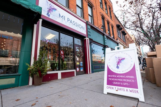 MI Passion, located at 217 Huron Ave. in downtown Port Huron, will be participating in the city's Small Business Saturday raffle drawing on Nov. 30, 2019.