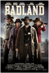 """The poster for the new Western, """"Badland,"""" which stars Poughkeepsie's own Kevin Makely."""