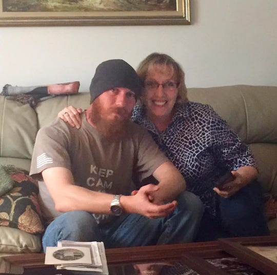 Master Sgt. Daniel Lovell and his mother, Beth Pezely, struggled through his signs of PTSD and couldn't get him help.