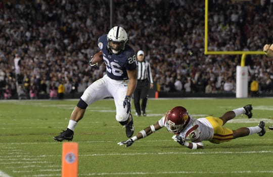 Saquon Barkley and Penn State were part of the highest score Rose Bowl game in history Jan. 2, 2017, but lost to USC, 52-49.