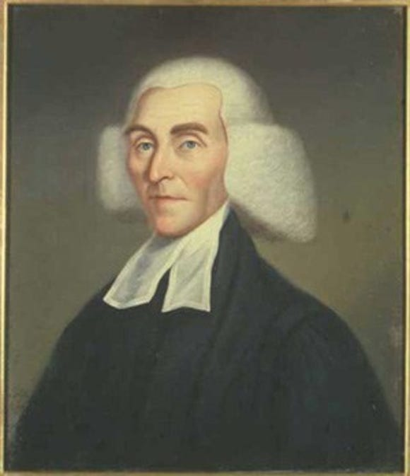 The Rev. George Duffield served as pastor of the Presbyterian congregation in Dillsburg and later served as chaplain to the Continental Congress.