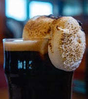 A toasted marshmallow porter served at Santiam Brewing in Salem on Nov. 13.