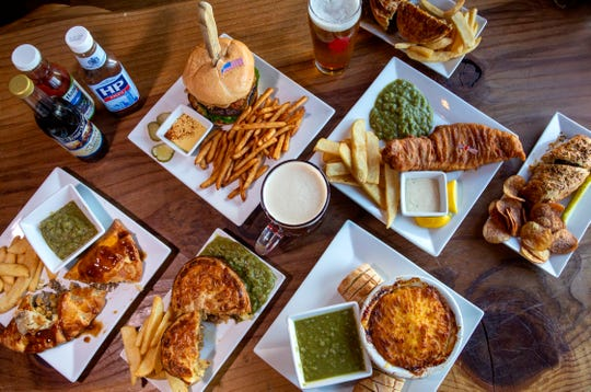 The new menu at Santiam Brewing features British-inspired dishes, served on Nov. 13 in Salem.