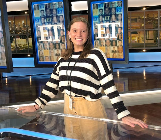 After graduating from Salisbury University this year, Charlotte Blain recently accepted a job with Entertainment Tonight in Los Angeles, California.