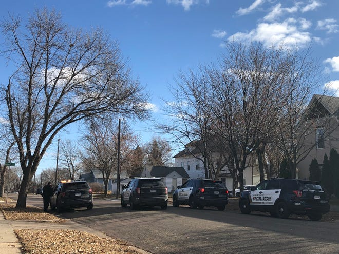 Police respond to a report of gunshots on the 1000 block of North Dakota Avenue on Nov. 25, 2019.