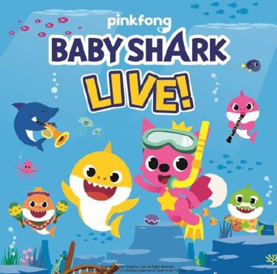 Baby Shark Live is coming to the Denny Sanford Premier Center.