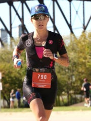 During Ironman Louisville in October, former Staunton resident Caitlin Alexander finished second in her age group and qualified for the Ironman World Championship in Hawaii in 2020.
