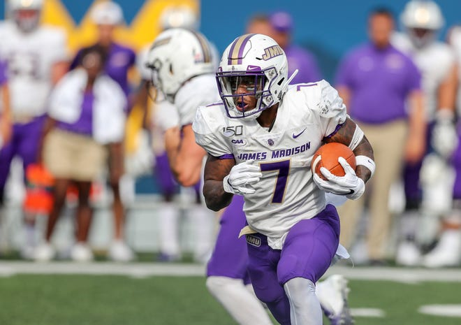 Jawon Hamilton and the James Madison Dukes are the No. 2 seed in the FCS playoffs.