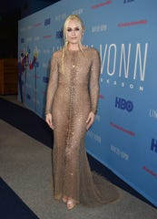 """Lindsey Vonn attends the premiere of HBO's """"Lindsey Vonn: The Final Season"""" at Writers Guild Theater on November 07, 2019 in Beverly Hills, California. (Photo by FilmMagic/FilmMagic for HBO )"""