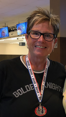 Jane Burgoyne tossed a  252 game last week that included eight strikes. It was both a career-high game for her, and the highest game by a woman bowler to date (after approximately three months) in the 2019-20 season in Mesquite.