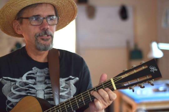 John R. Buter plays the Blue Tavern on Thursday.