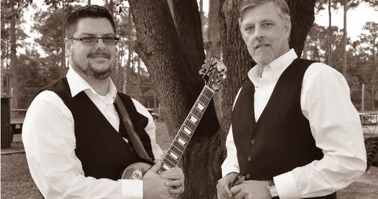 Brett Wellman and Chris Balding will perform 6 p.m. Sunday at Bradfordville Blues Club.