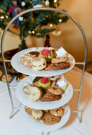 Yum! There will be cookies to delight every taste at the Dec. 9 Christmas Cookie Luncheon benefiting Caring Children Clothing Children. The event is at Mariner Sands Country Club in Stuart.
