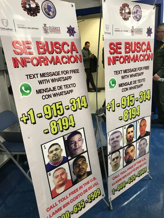 """Border authorities launch a local """"Most Wanted"""" initiative, asking residents to report crimes tied to organized crime."""