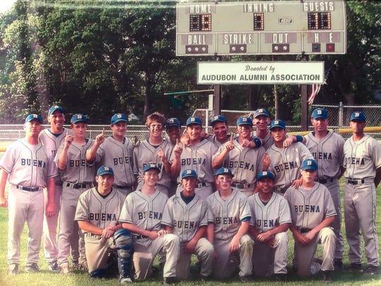 Buena 2008 sectional champion baseball team