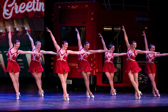 November 6, 2019: Dress rehearsal for the Radio City Christmas Spectacular starring the Radio City Rockettes.