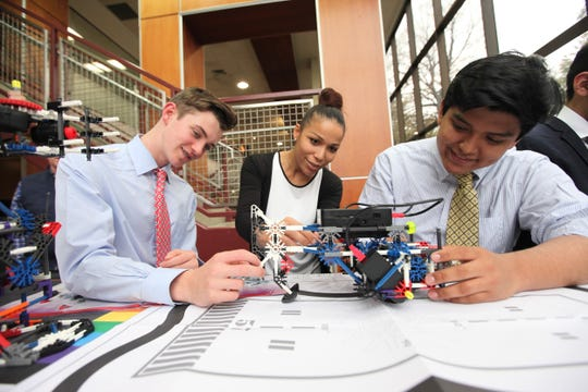 Fordham Preparatory School stands out for its hands-on, innovative approach to teaching science, technology, engineering, arts and math.