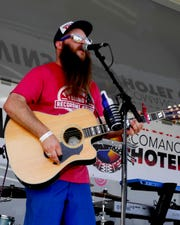 Clint Vines will be one of 12 area musicians who will perform at the Holiday Canndemonium from 2 to 6 p.m. Sunday at The Warehouse. Canned goods or cash donations go to the Wichita Falls Area Food Bank.