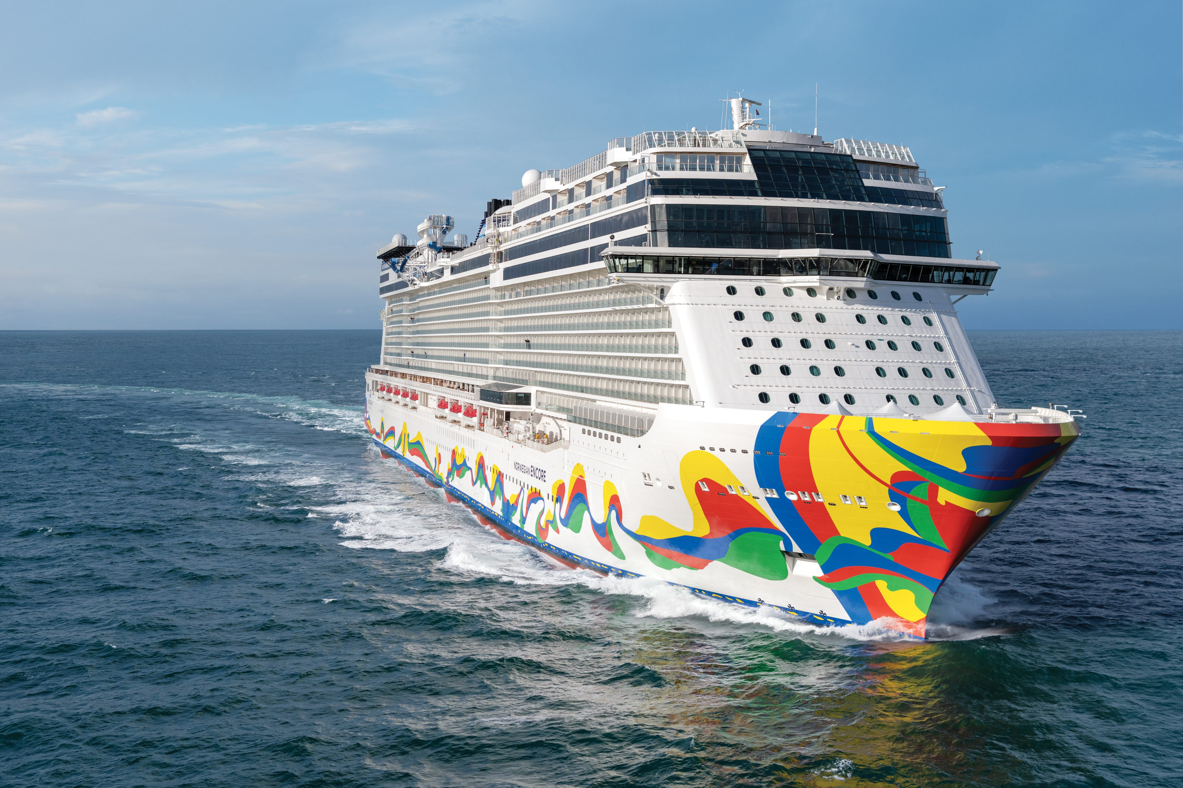 New Norwegian Encore cruise ship sets sail as Norwegian Cruise Line welcomes new leader