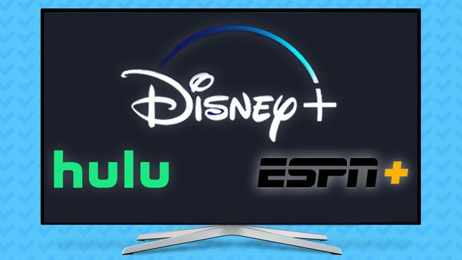 You can get a great deal on a streaming bundle for Disney+, ESPN+, and Hulu