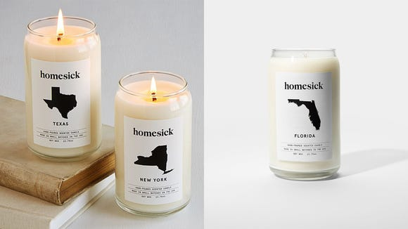 Reviewed Florida 2019 gift guide: Homesick candles