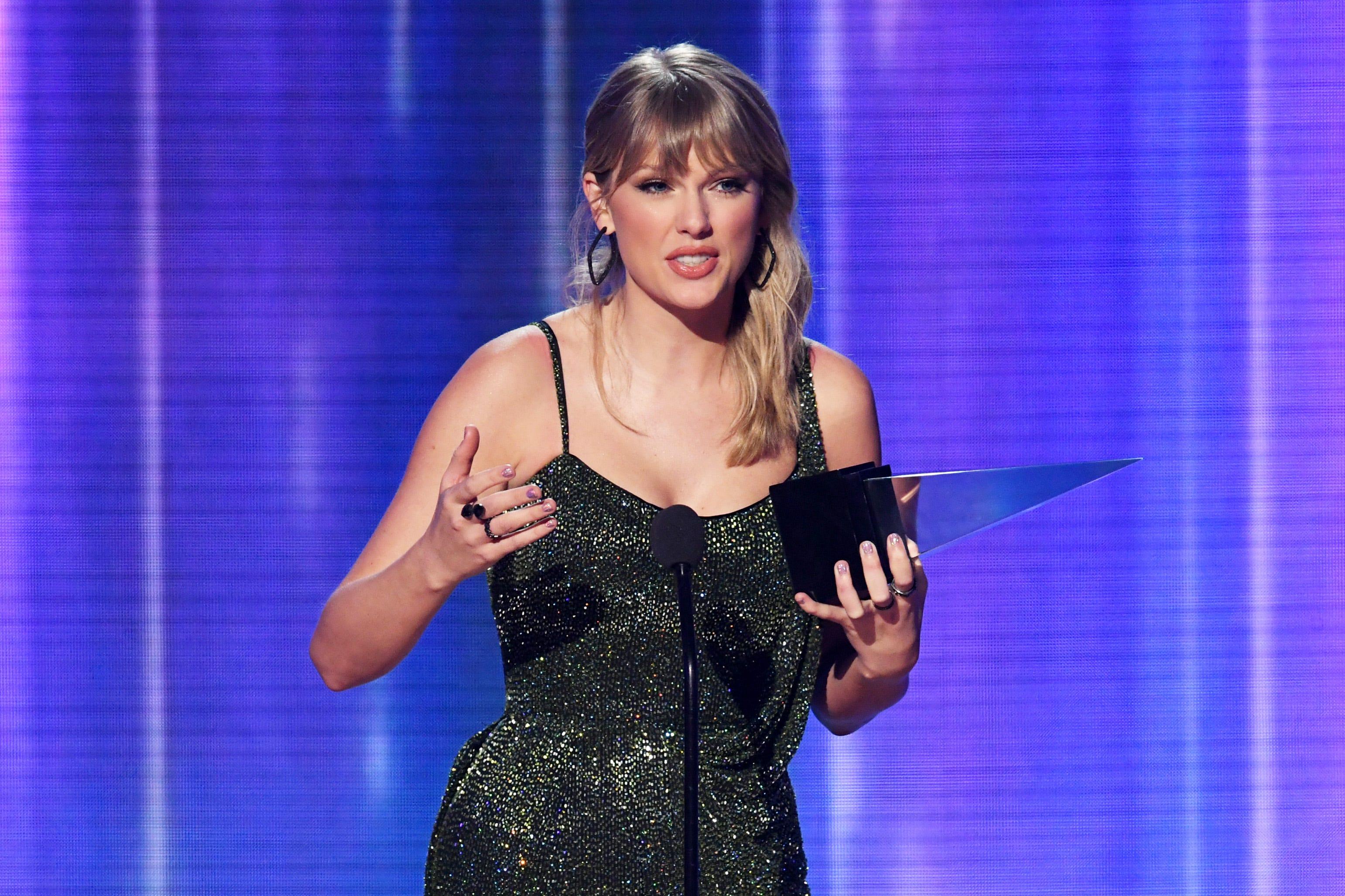 AMAs 2019 winners  list: Taylor Swift is tops; Dan + Shay, Billie Eilish win two each