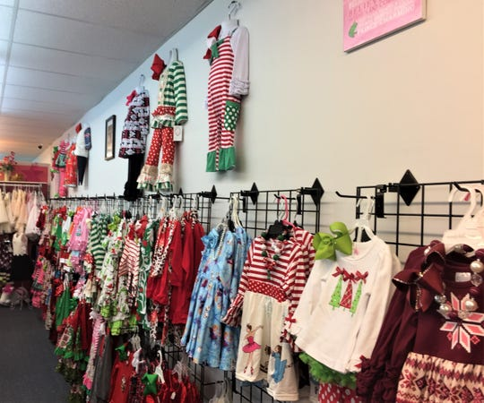 Kids B'Dazzled boutique on Jackson Street in Alexandria is one of many local retailers taking part in Small Business Saturday.