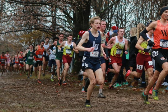 Lawrence cross country standout Joe Kortenhof finished 52nd at the NCAA Division III Championships on Saturday.