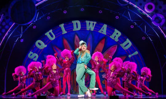 "Cody Cooley stars as Squidward in the national tour of ""SpongeBob SquarePants"" the musical, hitting the State Theatre in New Brunswick this weekend."