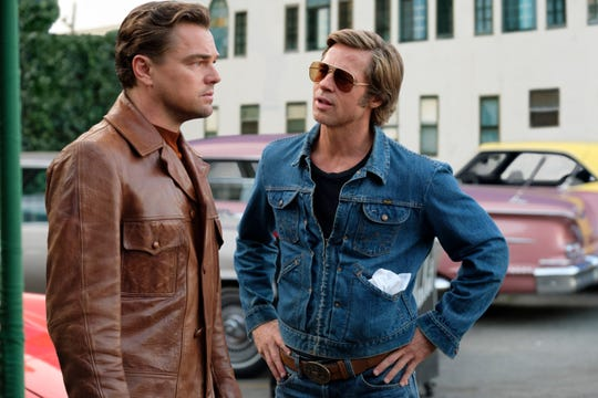 "Leonardo DiCaprio and Brad Pitt star in Quentin Tarantino's ""Once Upon a Time in Hollywood."""