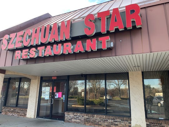 Szechuan Star in Freehold Township's Barclay Square shopping center closed Nov. 3.