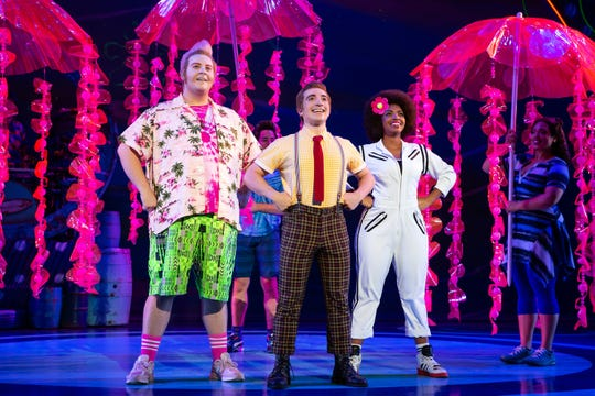 """The SpongeBob Musical"" splashes into the State Theatre in New Brunswick from Nov. 29 to Dec. 1."