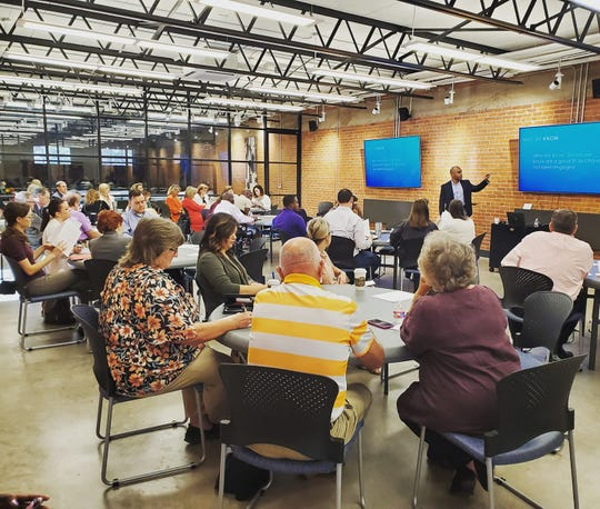 The Community Foundation of Abilene welcomed Charles Gaines as a featured presenter for a CFALearn workshop on donor relations and development Sept. 19.
